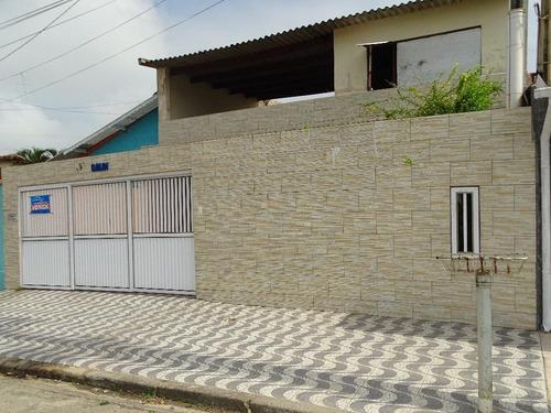 Casa Residencial À Venda, Itaóca, Mongaguá. - Ca0457