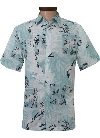 Camisa Hombre Casual Tipo Hawaiiana