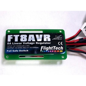 Flight Tech Power Ubec Bec Regulador Voltagem Ft8avr Esc