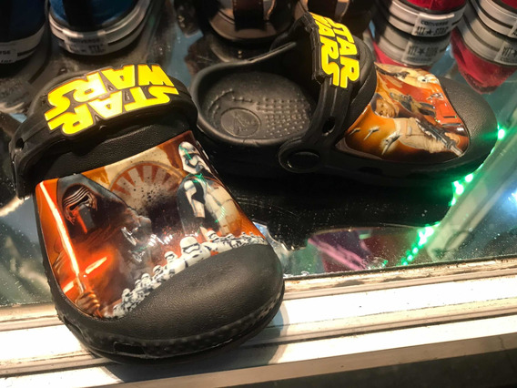 Crocs Colección Star Wars Originales Niños 15$