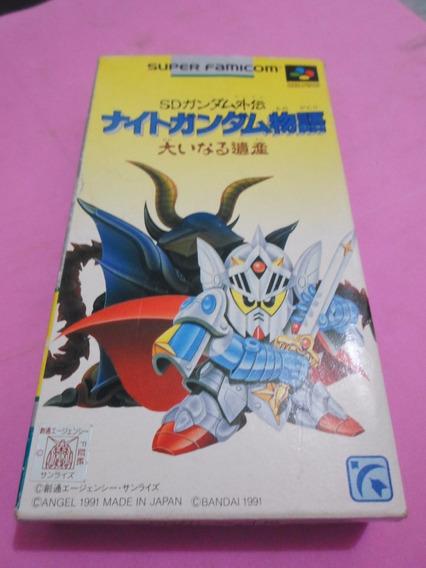 Sd Gundam Gaiden Super Nintendo Original Snes Famicom