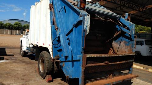 Caminhão Coletor De Lixo Ford F13000 15 M3
