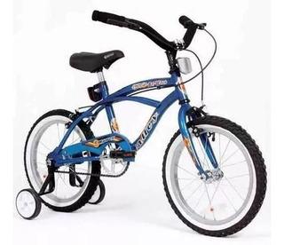 Bicicleta Playera Rodado 16 Halley Bmx Varon Nena R16 Fas