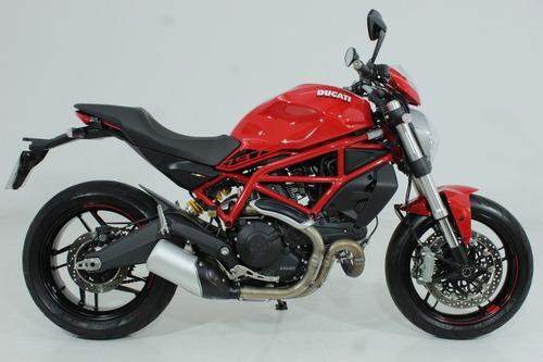 Ducati Monster 797 2020 Vermelha - Baixo Km