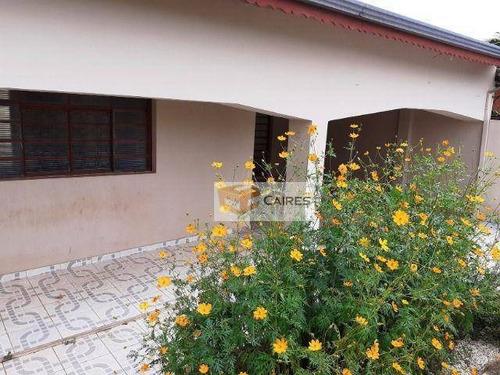 Casa Com 3 Dormitórios À Venda, 200 M² Por R$ 345.000,00 - Jardim São Domingos - Campinas/sp - Ca3085