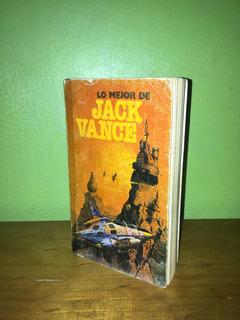 Libro, Lo Mejor De Jack Vance, Antología.