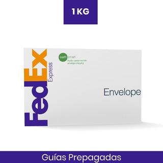 1 Guia Prepagada Dia Siguiente 1kg Fedex Recolección Gratis