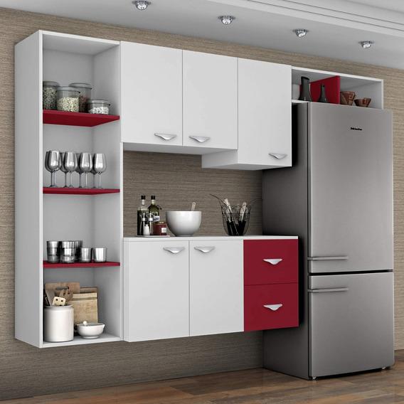 Cozinha Compacta 4 Peças 5 Portas Anabela Siena Ed