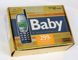 Celular Nokia Baby 3280- Dos Primeiros. Antigo