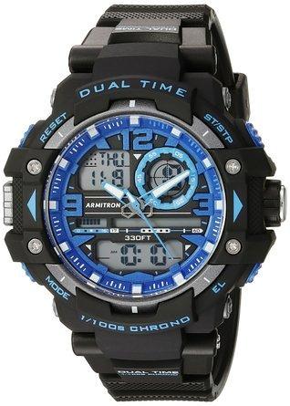 Armitron Masculino Deporte 20/5062 Reloj Cronógrafo Analógic