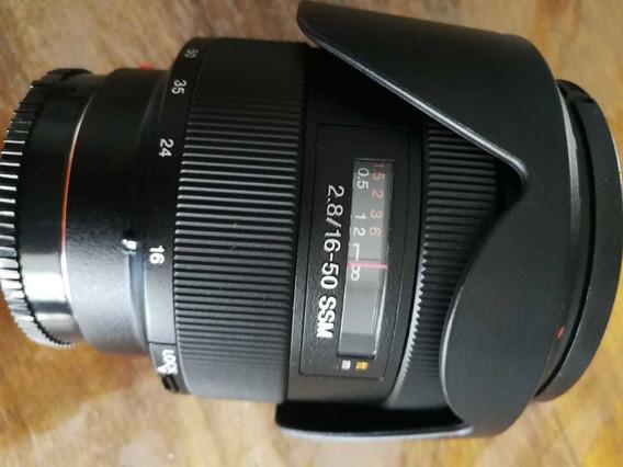 Lente Sony Alpha 16-50mm 2.8 Ssm
