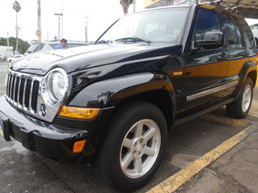 2006 Jeep Liberty Limited 4x2 At,factura Original,flamante