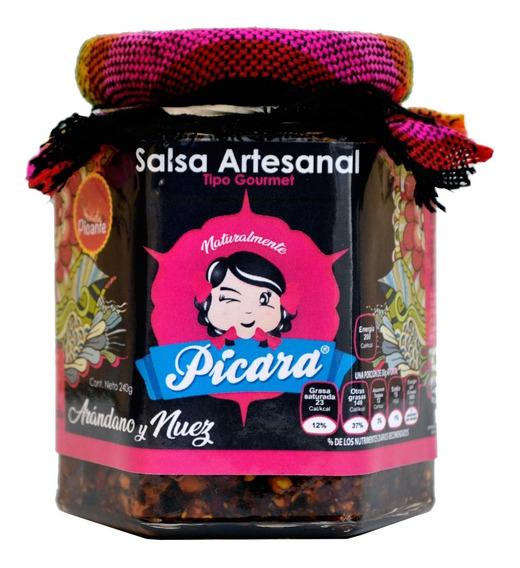 Salsa Gourmet Artesanal Arándano Y Nuez Picante