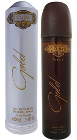Perfume Cuba Gold Masculino Prime 100 Ml Charuto Lançamento