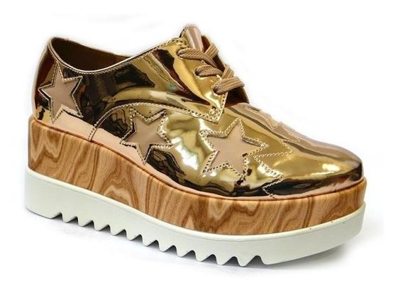 Sapatenis Sneakers Anabela 1251.102 - Vizzano (29) - Ouro Ro
