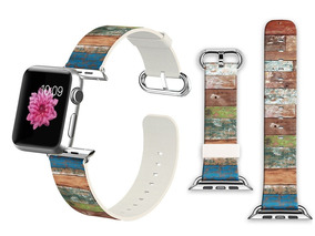 Iwatch Leather Band 38mm, Band With Adapter For Apple Watch