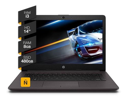 Imagen 1 de 5 de Notebook Hp 14p Intel Core I3 8gb Ram 480 Ssd Win 10