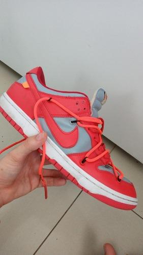 Tenis Nike Dunk Low Red Nike X Offwhite Original