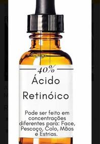 Ácido Retinoico 30 Ml 40% ( Peeling Profissional ) Manchas