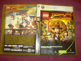 Xbox 360 Lego Indiana Jones The Original Adventures Mvj