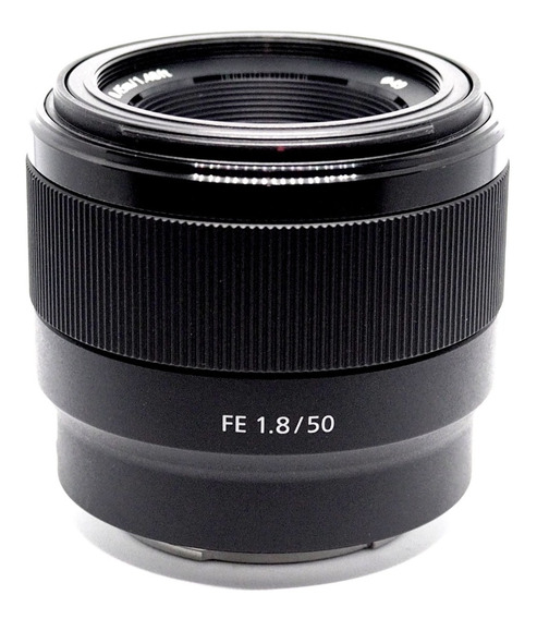 Lente Sony Fe 50mm F1.8 Full Frame Sony A7iii Nova Impecável