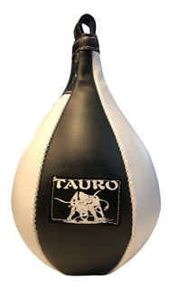 Pera Boxeo Puching Ball Tauro Box Inflable Cuero Sintetico