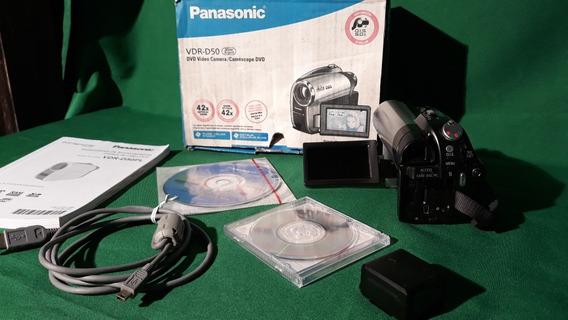 Filmadora Panasonic Grava Em Dvd- E Sd