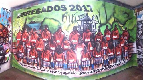 Imagen 1 de 4 de Banderas De Egresados
