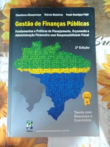 Gestão De Finanças Públicas 2ª Edição Claudiano Albuquerque