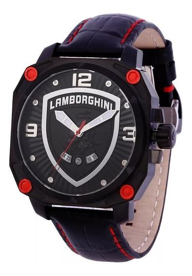 Relógio Masculino Lamborghini Countach Lb90019252m Original