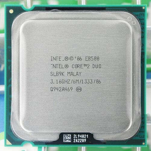 Imagem 1 de 1 de Intel Dual Core E8500 775 2/2 - 3,16ghz - Frete Grátis