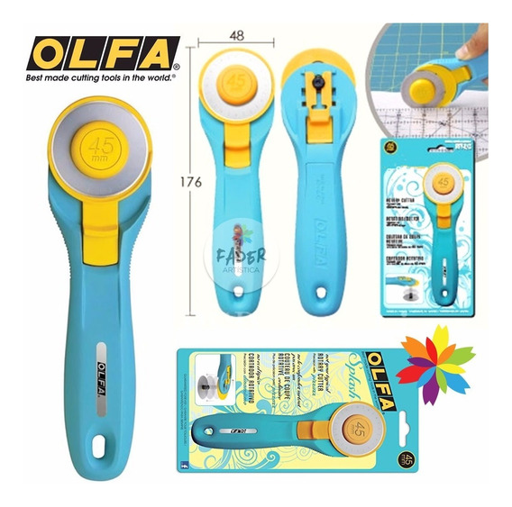 Cortante Cutter Olfa Modelo Rty-2/c 45 Profesional Barrio Nt