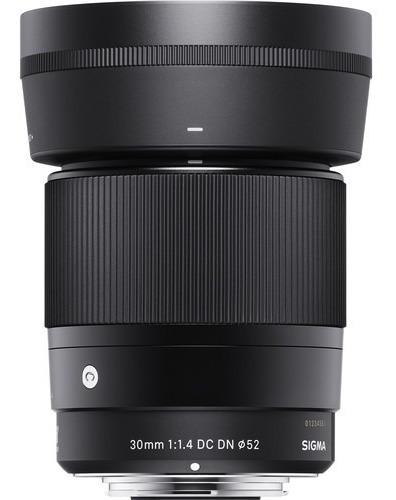 Sigma 30mm F/1.4 Dc Dn Mft Imperdível - C/ Recibo