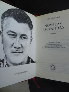Leslie Charteris 2 Tomos Novelas Escogidas El Santo