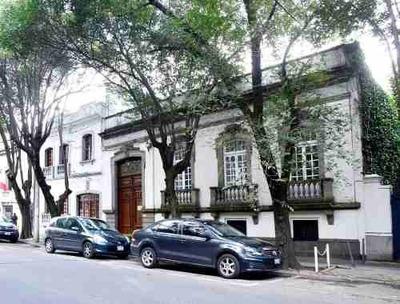 Casa Con Uso De Suelo Para Oficinas En Colonia Roma