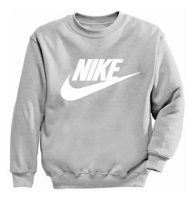 Sudadera Sin Gorro Negra-gris-roja-blanca Nike Envio Gratis