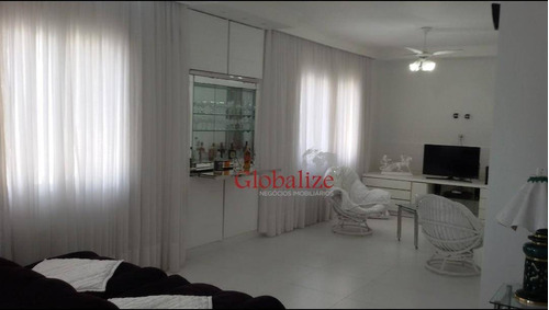 Apartamento Com 4 Dormitórios À Venda, 240 M² Por R$ 905.000,00 - Centro - Guarujá/sp - Ap0767