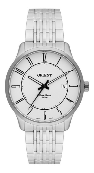 Relógio Orient Mbss1272 S2sx Prata Original