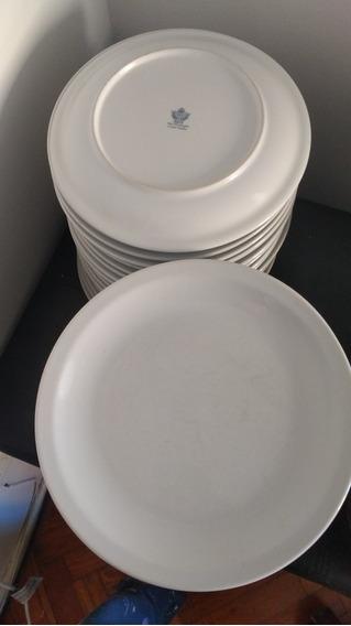 Platos Tsuji De Porcelana De 27 Cm X 6 Unidades
