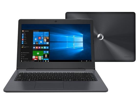 Notebook Positivo Intel Dual Core 4gb Hdmi Webcam - Novo