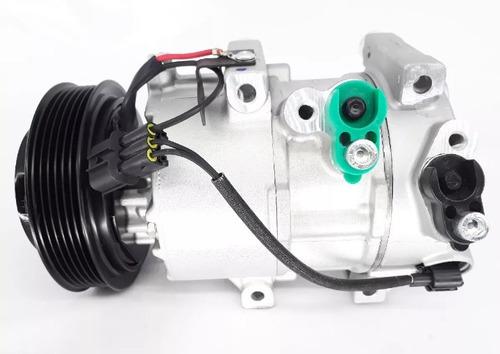 Imagem 1 de 6 de Compressor Ar Cond Kia Sportage Hyundai Ix35 2.0 Acima 2011