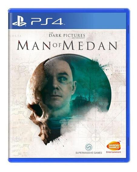 The Dark Pictures Man Of Medan Ps4 Mídia Física
