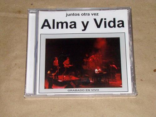 Alma Y Vida Juntos Otra Vez - Grabado En Vivo Cd / Kktus