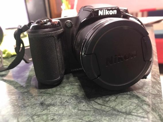 Cámara Fotográfica Nikon Coolpix L340 Zoom 28x