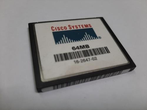 Cartão De Memória Flash 64mb Cisco System