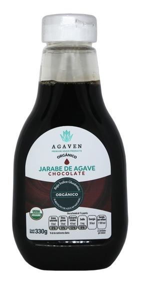 Endulzante De Agave Orgánico Chocolate 330 Gr