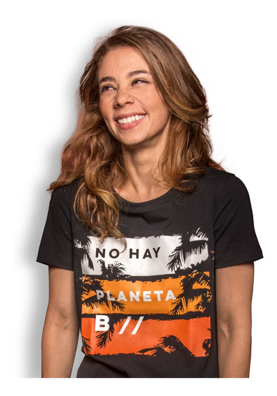 Camiseta Ecológica Wwf Colombia Mujer