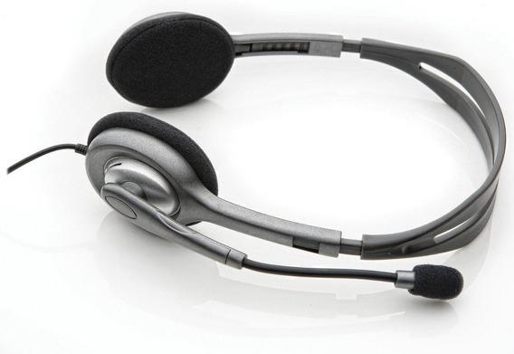 Melhor Fone De Ouvido Logitech H111 Com Nf *leia Descrição*