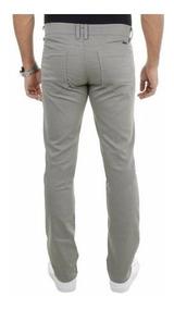 Calça Jeans Masculina Branca Sarja Slin Até Nº 66 Plus Size