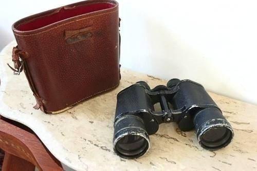 Binóculo Antigo Original Omega Coated Lens Ótimo Estado